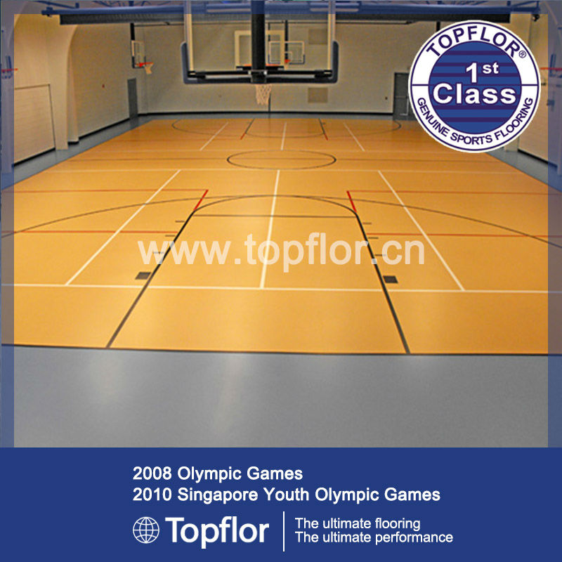 Excellent Quality Indoor Basketball Court Flooring