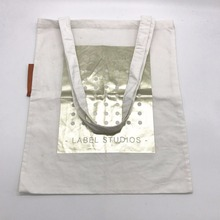 Promotional Organic Leisure Canvas Cotton Packaging Bag