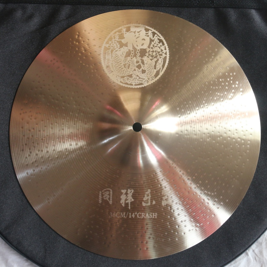 New designed cymbal with high quality Customized Cymbal Carved pattern