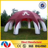 PVC tarpaulin inflatable advertising frame tent pop up camping tents