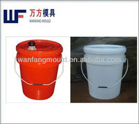 injection moulds for paint bucket,lid and plastic handle