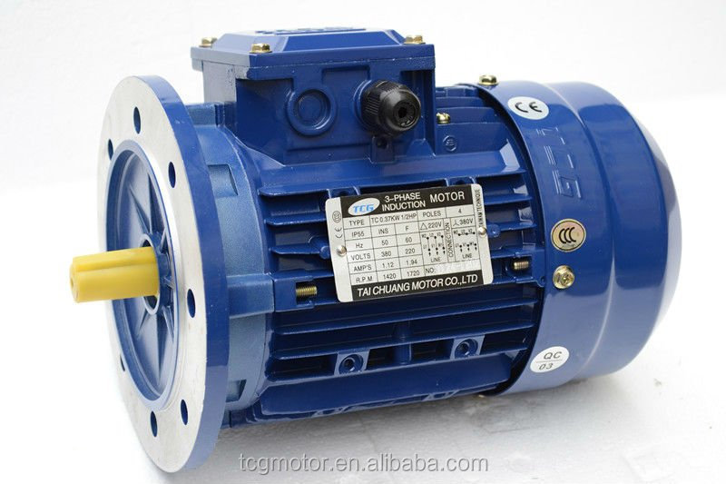 three phase induction motor, AC asynchronous, Y series B3/B5/B14
