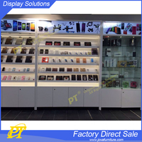 cellphone display fixture racks, phone case display table stand
