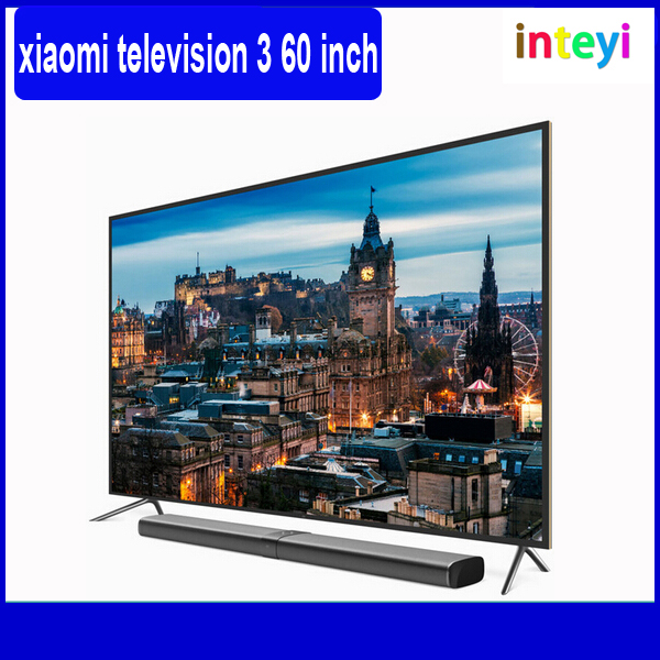 "100% Original New Xiaomi TV 3 60"" Inches Smart TV English Interface Real 4K Screen 3840*2160 Ultra HD Quad Core Household TV"