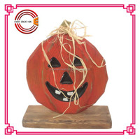 wholesale halloween pumpkin for sale wooden pumpkin for party decoration
