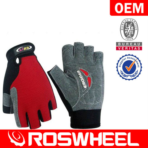 Professional Quality Custom Designed Half Finger Cycling Gloves