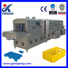 automatic plastic crates washing machine,fruit basket washing machine