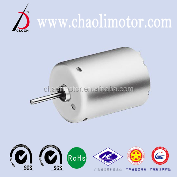 Mabuchi length 30.8mm diameter 24.4mm12V low noise CL-RF370CB dc Motor for toys and car Odometer