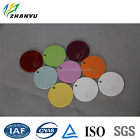 ZhanYu Acrylic Lovely Shape Soft Color Plastic Sheet Cheap Price