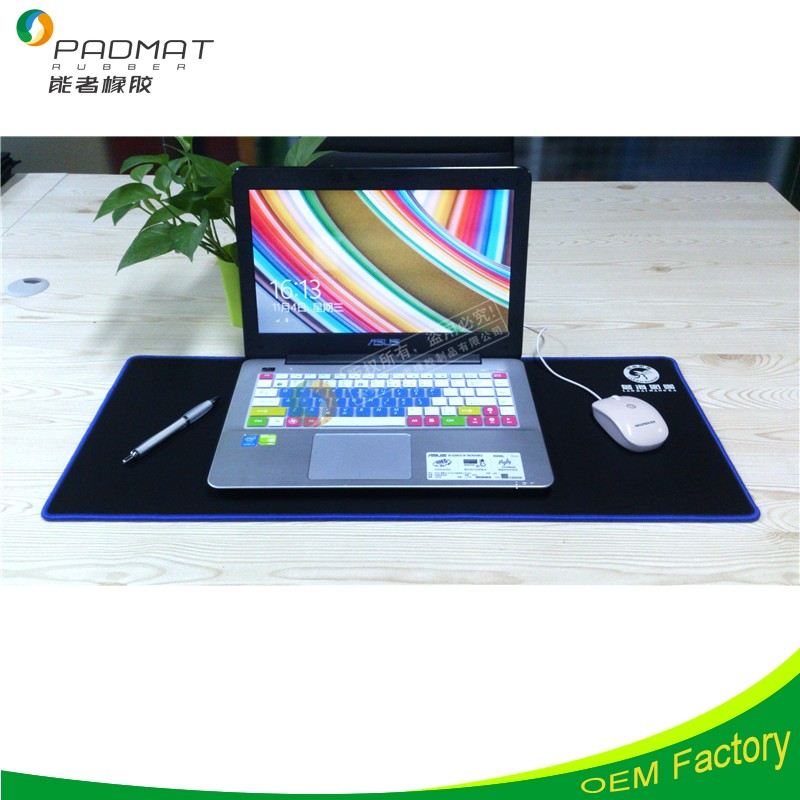 XXL black mouse pads print <strong>1</strong> <strong>c</strong> color, popular and best selling