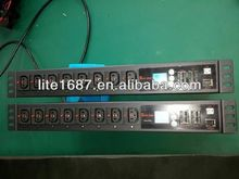 24 ports 220V 64 amp IP PDU, Per Outlet Switch and Monitor