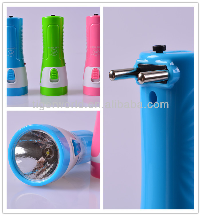 Jinyuan popular color High power 3 led rechargeable flash light/torch