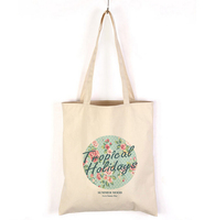 eco custom logo print natural shopping cotton canvas tote calico bag