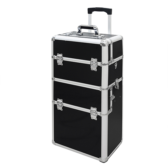 Professional Cosmetic Makeup Travel Case Trolley