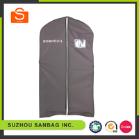 high quality non woven foldable suit cover garment bag