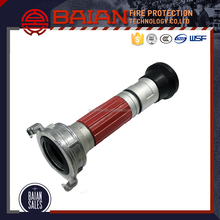 Flexible fire hose nozzle spray jet fire hose nozzle