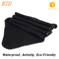 Waterproof anti slip recycled material needle punched pad felt for mattress