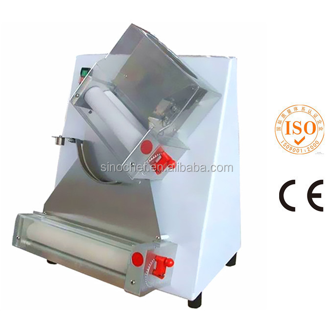 Commercial Pizza Equipment 12 inches Electric Pizza Dough Press Roller Machine