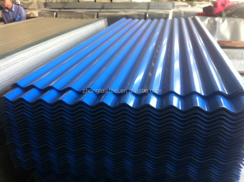 PPGI color coated steel coil full hard G550 roofing corrugated plate