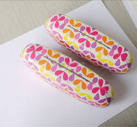 PU/PVC leather optical glasses case