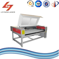 China CNC CO2 laser cutting machine for flexible materials such as leather, cloth, etc.