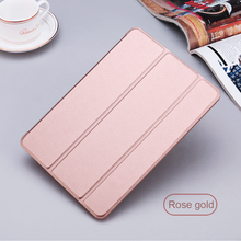 Front White Smart Covers For iPad Mini Tablet Case