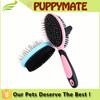 2016 wholesale dog grooming products large size double side dog brush, dog comb