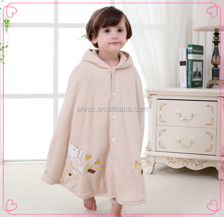 colored cotton baby hooded cape knitting pattern baby cloak on sale