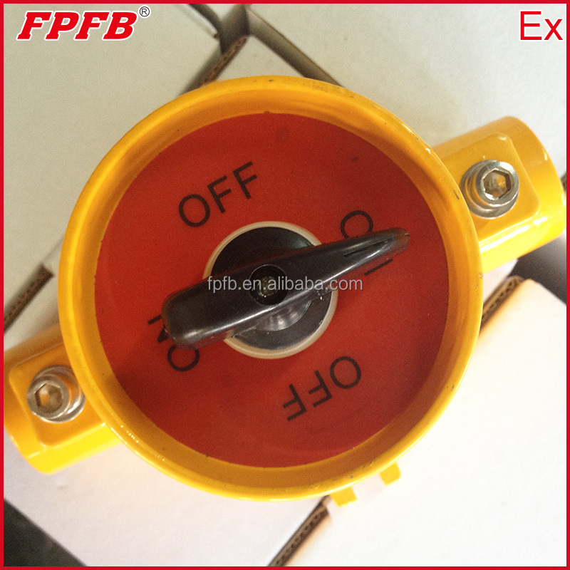 10A Type Explosion proof switch for lighting