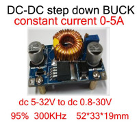 DC - DC high power step-down voltage adjustable output an on-board aircraft model supply large current 6 A