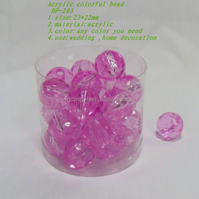 wholesales plastic acrylic beads diamond beads lucite indian beads
