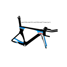 Baolijia chinese road bike time trial frame fm086 tt frameset UD weave carbon fiber bicycle parts tt frame