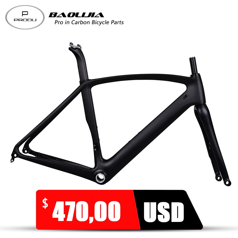 2017 New Arrivals Chinese Carbon Road Bike Frame Disc Brake Sale