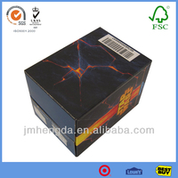 Corrugated Paper Fashion Design Standard Packing Box Sizes For Sale