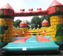 2016 Custom design inflatable bounce round