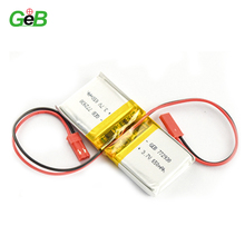 lithium battery 3.7v 650mah 772930 rechargeable battery for electronics
