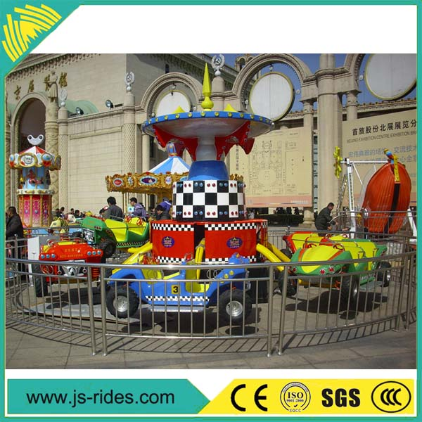 amusement park electric crazy dance car/crazy flying car rides for sale