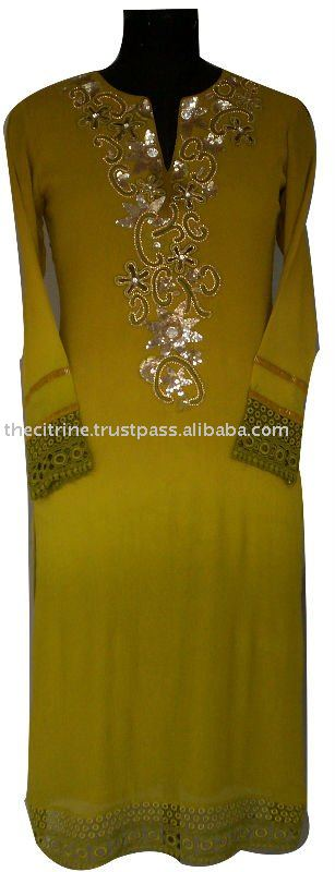 Embellished Pakistani Salwar Suit
