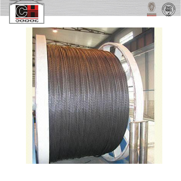 High quality non rotating steel wire rope 19x7