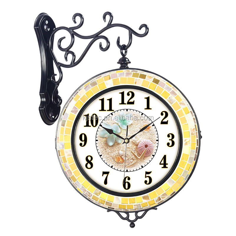 kids clock pictures leather world time wall clock