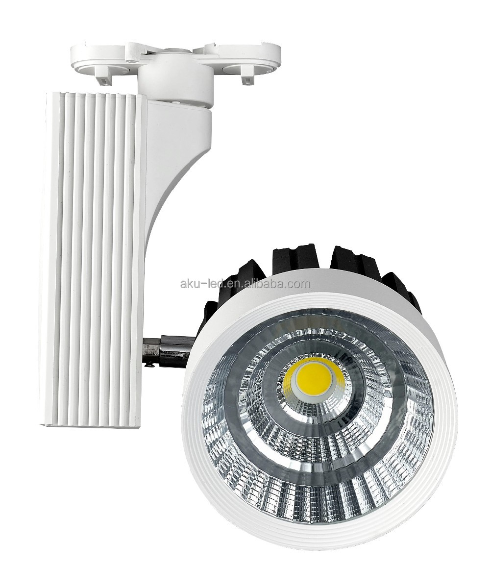 High Lumen China Supplier 9.5W COB LED Adjustable Track Spot Light Lightings