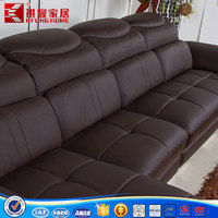 Good quality price recliner sofa leather sofa
