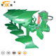 agricultural machine hydraulic reversible share plough