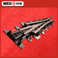 Railroad fabricated crossing