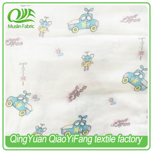 sprigged muslin fabric Use for baby cloth cotton printed stiff muslin fabric