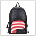 Wholesale 2016 trend leather european style pu leather school backpack for girls