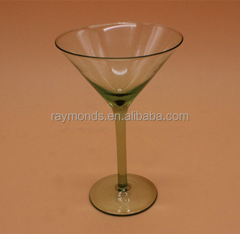 Clear Cocktail Drinking Glass