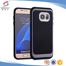 phone accessories mobile phone cover hybrid armor back cover for samsung galaxy s6 case