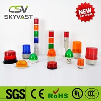Manufacture traffic light IP40 blue red tower lights yellow green flash LED rotating light bar