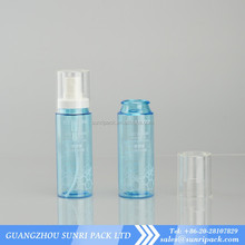 custom made color 50ml coupling mist sprayer plastic bottle with clear cover
